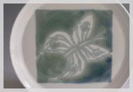 "Frühstücksteller Dekor ""Schmetterling"""